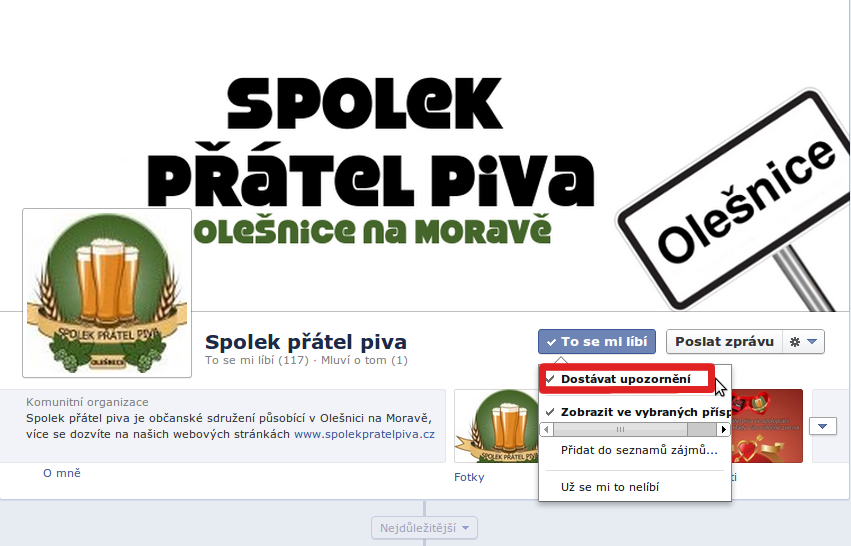 Návod na facebook