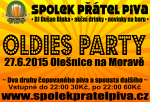 Oldies party olešnice 2015